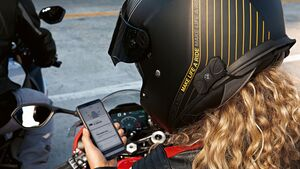 BMW Motorrad Kommunikationssystem Fit-for-All