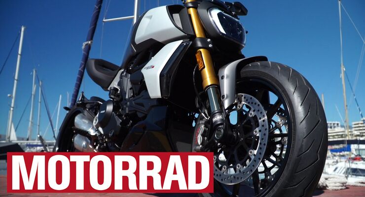 Ducati Diavel 1260 S (Video-Standbild).