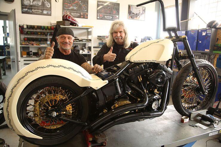Harley-Davidson Würzburg Village Custombike Papst