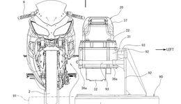 Kawasaki Elektromotorrad Patent