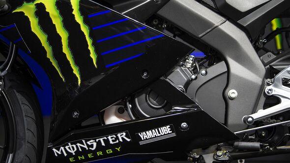 Yamaha YZF-R125 Monster Energy Yamaha MotoGP Edition