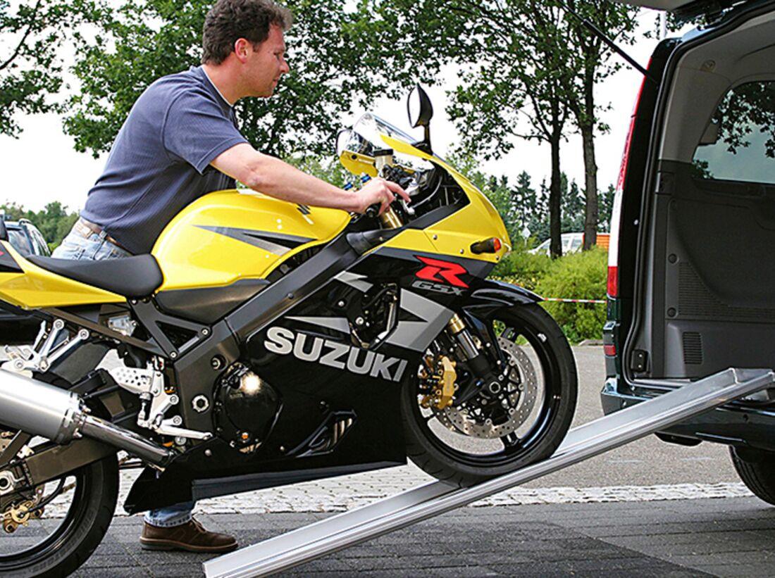 bersicht m glichkeiten des motorrad transports reise. Black Bedroom Furniture Sets. Home Design Ideas