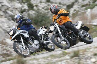 Doppel Top Test Bmw F 650 Gs Und Bmw G 650 Xcountry Motorradonline De