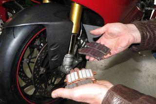 Einfach FÜr Honda Cbr Rr 600 Von 2007 Bis 2015 Hintere BremsbelÄge BremsklÖtze Braking Auto & Motorrad: Teile